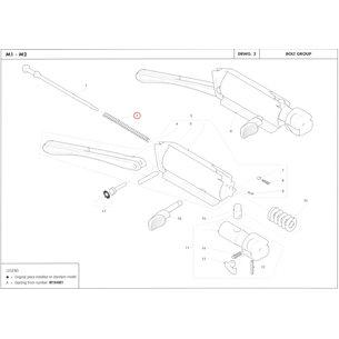 Sako Firing pin spring, Benelli M2