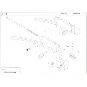 Extractor spring, Benelli M2