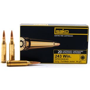 Sako 243 Win Speedhead 5,8g/90gr, 20st/ask
