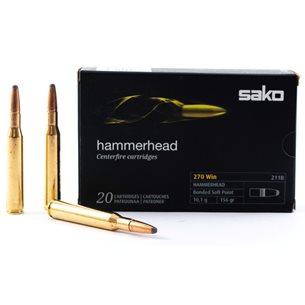 Sako 270 Win Hammerhead 10,1g/156gr, 20st/ask
