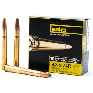 Sako 9,3x74R Hammerhead 18,5g 10st/ask