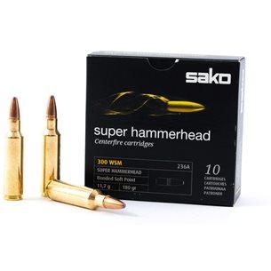 Sako 300 WSM Super Hammerhead 11,7g/180gr, 10st/ask