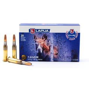 Lapua 7,62x53R Mega 12g/185gr E415, 20st/ask