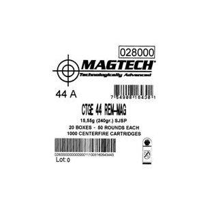 Magtech 44 Rem Mag 15,55g/240gr SJSP FLAT, 50st/ask