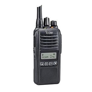 ICOM ProHunt Basic Digital 155Mhz, jaktpaket svart