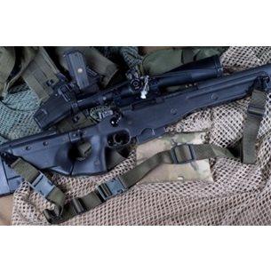 TAB Rifle sling OD green, Flush cups