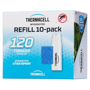 Thermacell Refill 10-pack, 10 gaspatroner/30 mattor