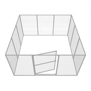 Hundgård Robust 11+1 st 13 m2 Medium
