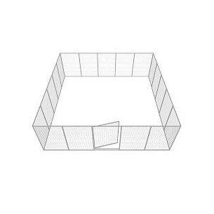 Hundgård Robust 17+1 st 29 m2