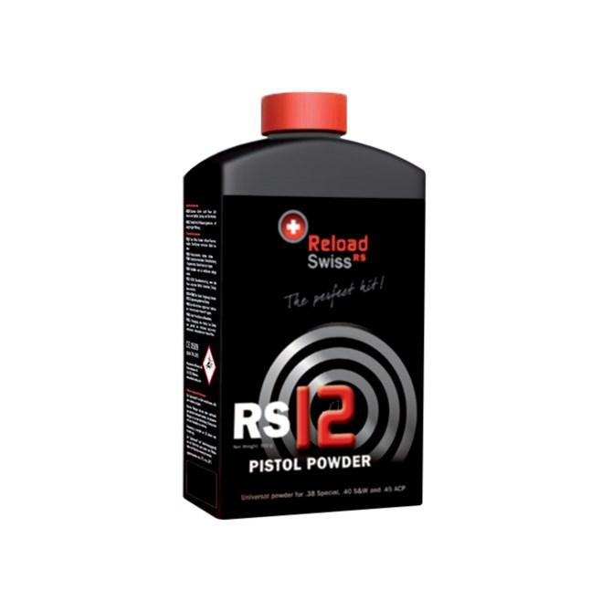 Reload Swiss RS12 Pistol Powder 500g