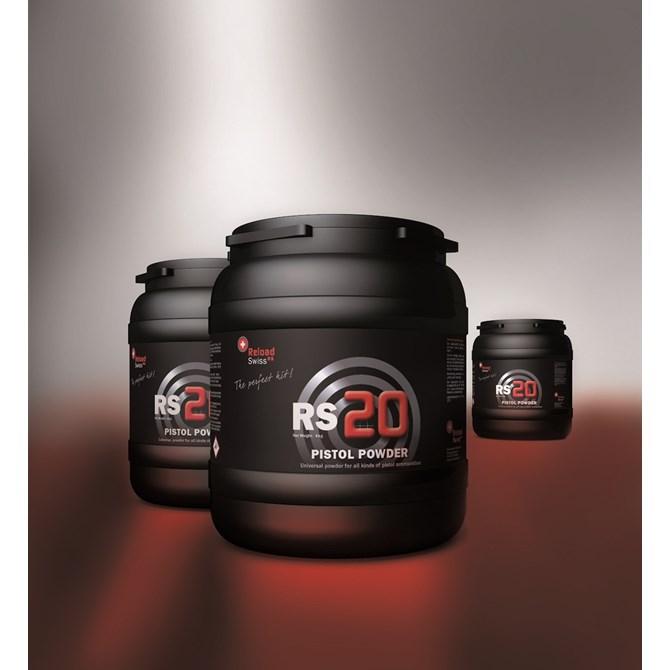 Reload Swiss RS20 Pistol Powder 4kg