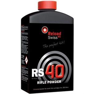 Reload Swiss RS40 Rifle Powder 1kg