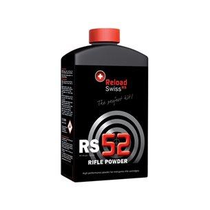 Reload Swiss RS52 Rifle Powder 1kg