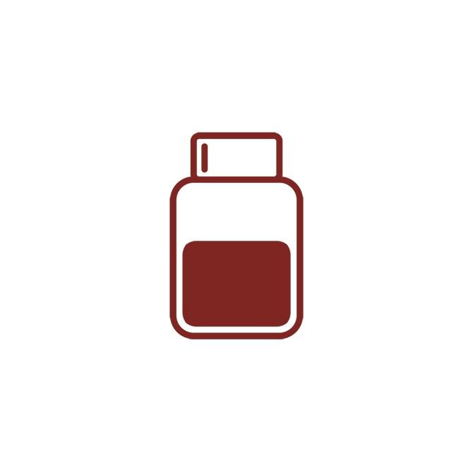 Aktivt Kol - Pulver, 1 L
