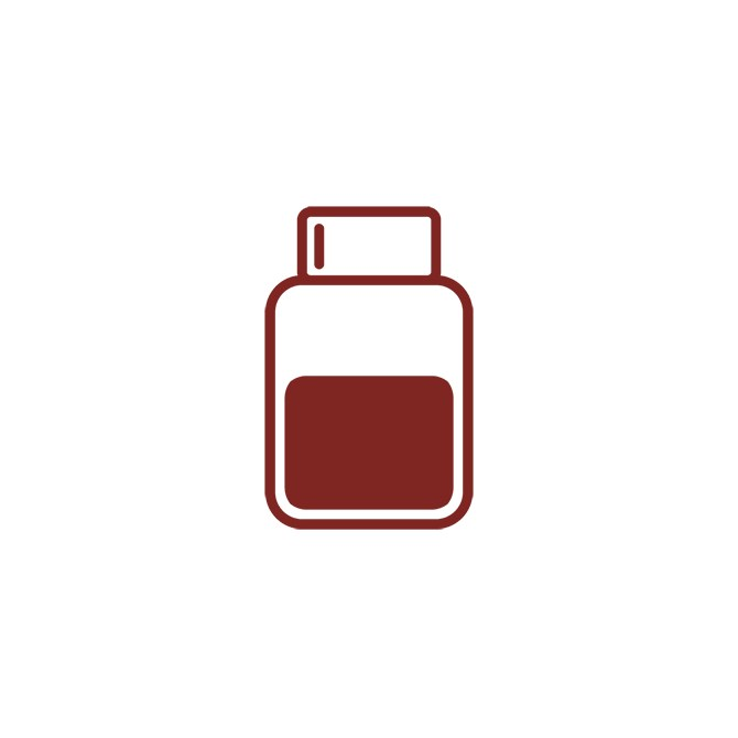 Järn (III) Oxid - röd, 500 g