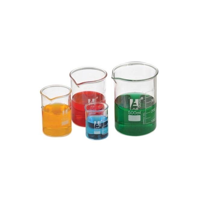 Bägare - glas 1000 ml, 6 st