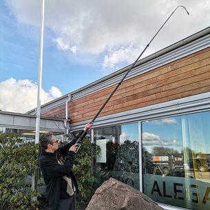 Inspektionskamera, 5,6m, för höga höjder, oåtkomliga platser