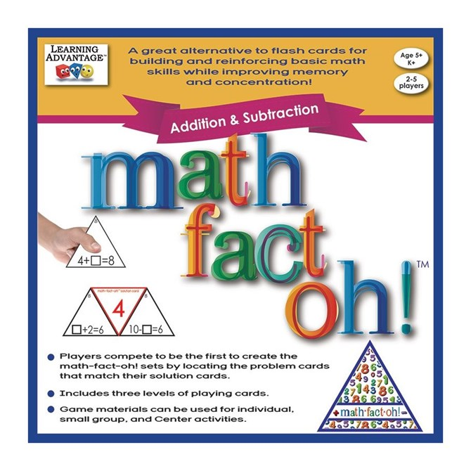 MATH-FACT-OH Addition & Subtraktion