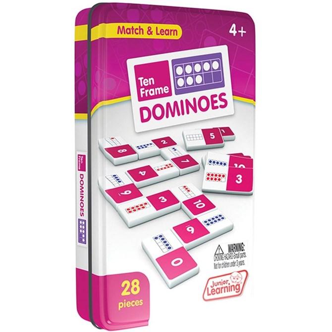 DOMINO - Siffra & antal, talområdet upp till 10