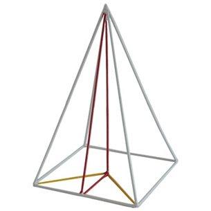 Pyramid - trådbunden