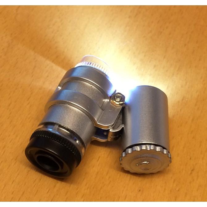 Fick-mikroskop, juvelerarlupp 45x för yrke och hobby
