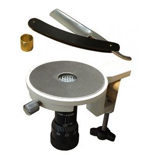 Cylindrisk handmikrotom för mikroskop-preparat