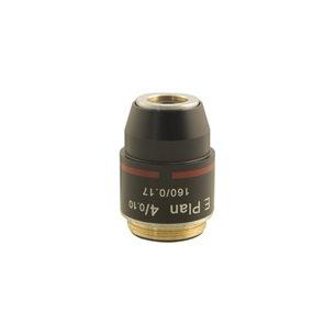 Objektiv, 4x, e-plan, akromatiskt, för mikroskop BMS D1