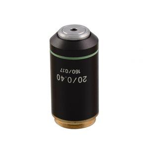 Objektiv, 20x akromatiskt, för mikroskop BMS D1
