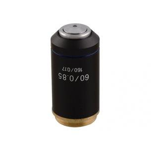 Objektiv, 60x akromatiskt för mikroskop BMS D1
