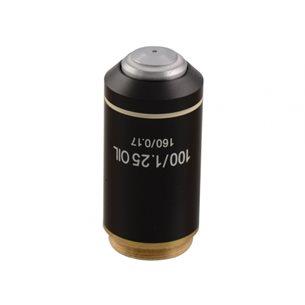 Objektiv, 100x, immersionsolja, akromatiskt, för mikroskop BMS D1