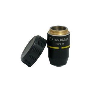 Objektiv, 10x e-plan, för mikroskop BMS D1