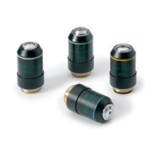 Objektiv, 10x, halvplant, oändlighetskorrigerat, akromatiskt, för mikroskop Oxion