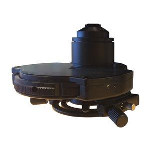 Kondensor med fasrevolver - för mikroskop