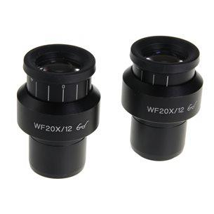 Okular, 2ST. Widefield 20x/12mm - till sterolupp Nexius Zoom