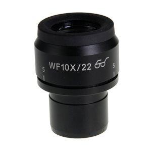 Okular, Widefield 10x/22mm, mätskala - till stereolupp Nexius Zoom