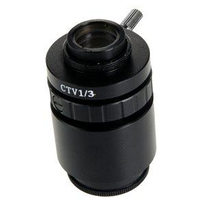 Adapter, C-gänga, 0,50x lins, för 1/2 tums kameror.