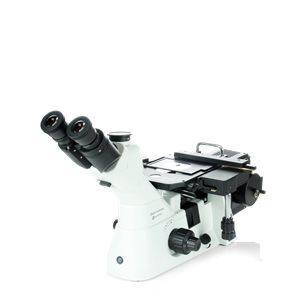 Inverterat material-mikroskop, 100, 200, 500 och 1000x