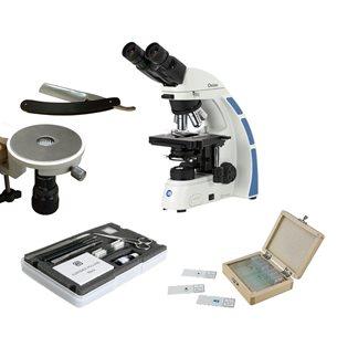 Mikroskoppaket, Oxion Bino, plant 40 - 1000x