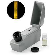 Ädelstensrefraktometer, för mätning av brytningsindex i ädelstenar