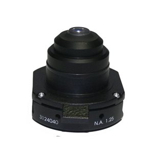 Abbe-kondensor med mörkfältsskena - till mikroskop Labomed CxL
