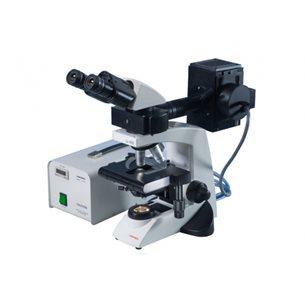 Trinokulärt fluorescensmikroskop Lx 400
