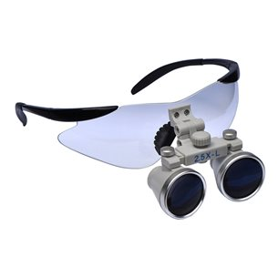 Premium Loupes, Galilean 2.5x, 330mm SHORT WD with Glasses