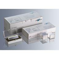 Täckglas, borosilikat, tjocklek 1, 0,13 - 0,16 mm, DIN ISO 8255 - för mikroskop
