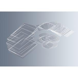 Täckglas, hydrofoba, tjocklek 1,DIN ISO 8255 - för mikroskop