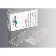 Objektglas, 76 x 26mm, slipad kant, DIN ISO 8037/1 - för mikroskop