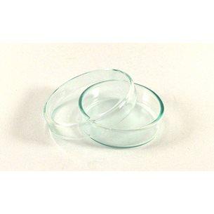 Petriskål, glas, - 60 x 15mm, silikat-/sodaglas