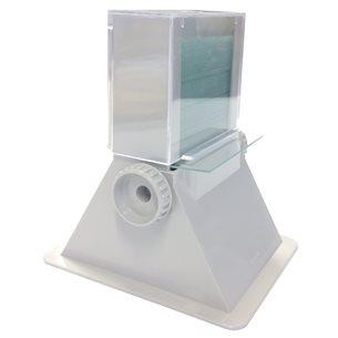 Objektglasmatare/-automat, för 50 st. 76 x 26mm objektglas, ABS-plast