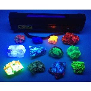 UV-lampa 11W - kortvågigt ljus, för fältundersökningar