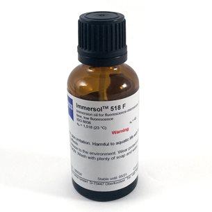 Immersionsolja Immersol 518 F, flaska 20 ml, från Zeiss