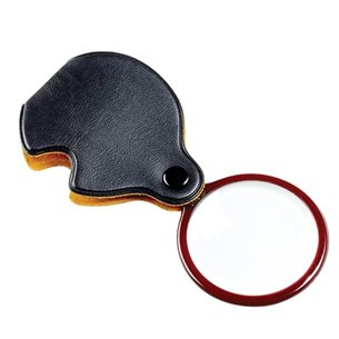 Opticron Vikbar Lupp läder 3,5x 45 mm - Svart